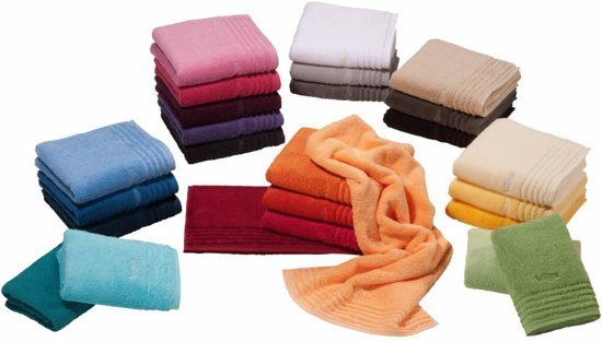 9473a816018 Vossen handdoek Vienna Style Supersoft 60x110 burgundy