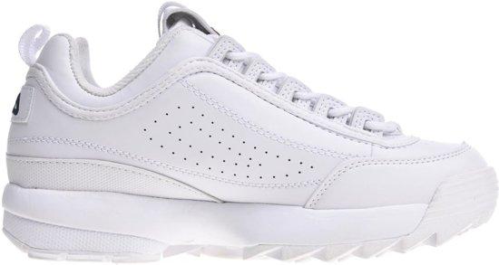 Dames Maat 42 1fgwhite Wit Sneaker Laag Gekleed FilaDisruptor 1TJclFK