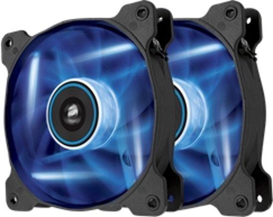 Corsair Air SP120 Static Pressure Edition - Blauw LED (duo pack)