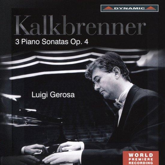 3 Piano Sonatas Op. 4