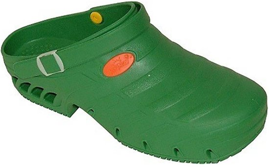 Sun Shoes Studium Groen SEBS Klompen Uniseks