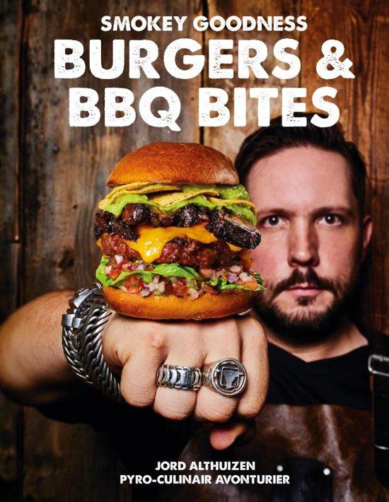 Boek cover Smokey Goodness - Burgers & BBQ Bites van Jord Althuizen (Hardcover)