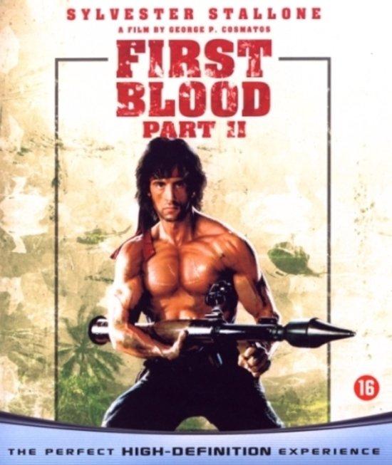 Cover van de film 'Rambo First Blood - Part II'