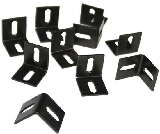 Bolcom L Ophanghaken Zwart Set Van 10 Stuks