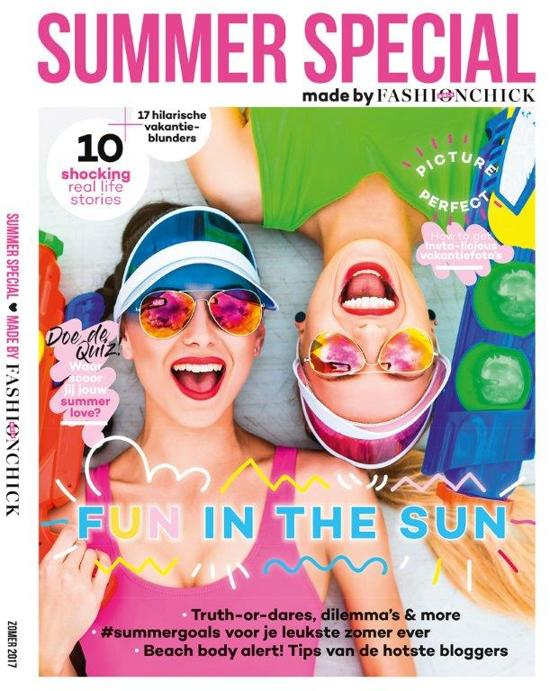 FASHIONCHICK GIRLS VAKANTIEBOEK 2017