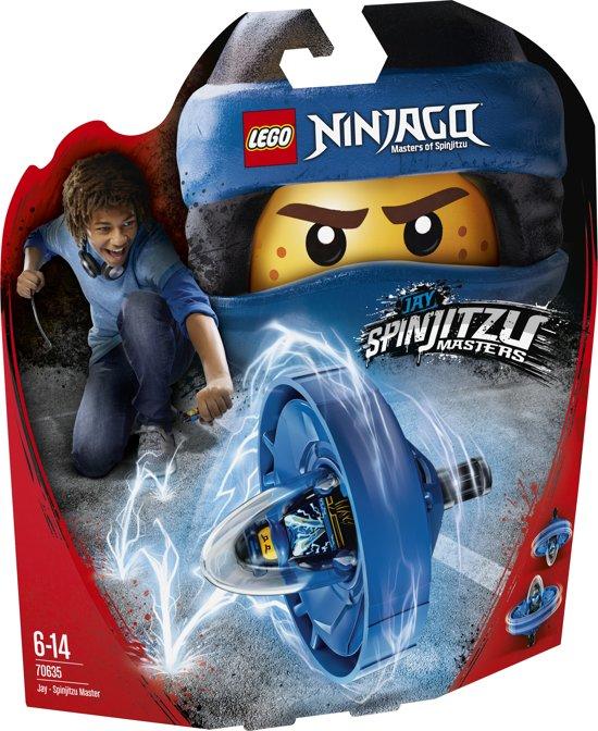 LEGO NINJAGO Spinjitzumeester Jay - 70635
