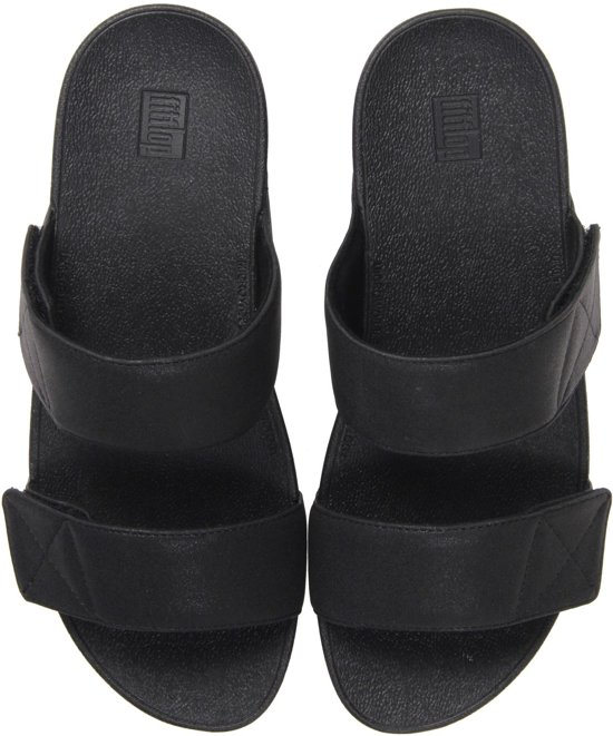 FitFlop TM Vrouwen Slippers - Mina slide shimme - Zwart