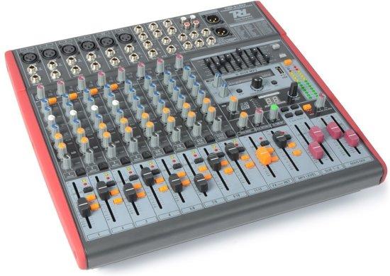 PDM-S1203 Stage Mixer 12-Kanaals DSP/MP3- USB IN/UIT