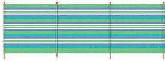 Yello Windscherm 4 Palen 90 X 224 Cm Groen/blauw