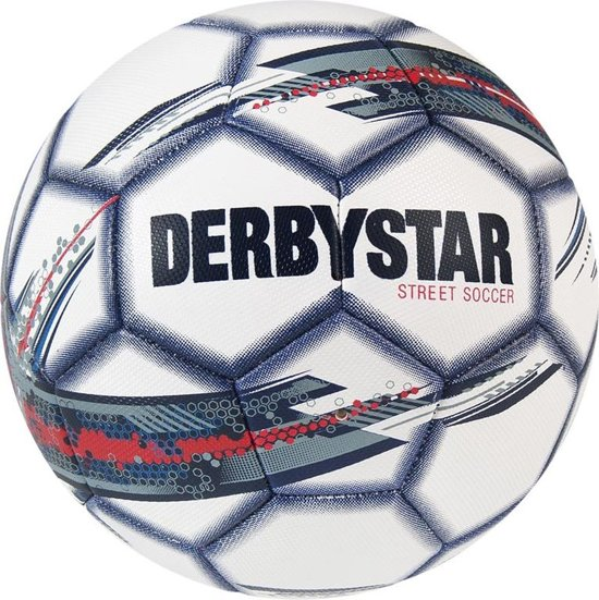 Derbystar Street Soccer - Voetbal - groen/geel/oranje