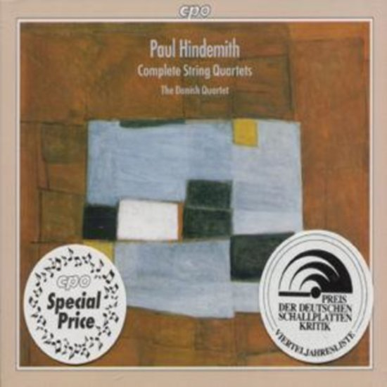 Hindemith: Complete String Quartets / The Danish Quartet