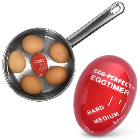 MikaMax - Fool Proof Egg Timer - Kookwekker - Rood