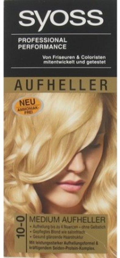 Syoss Haarverf 10-0 Medium Lightener