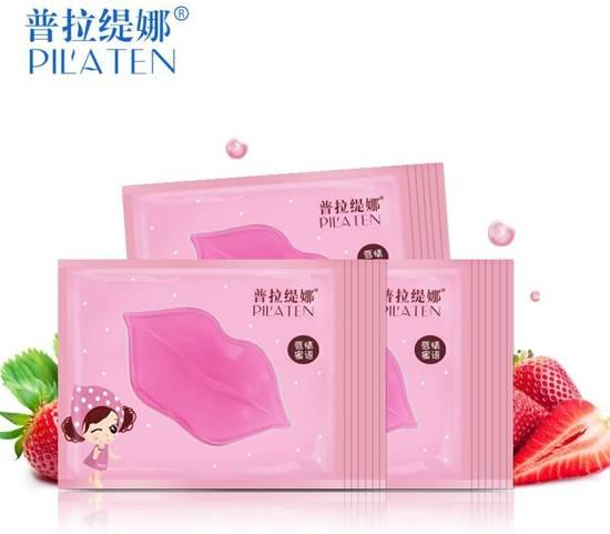 Pilaten lip masker / membrane voor gladde en zachte lippen - 5 stuks