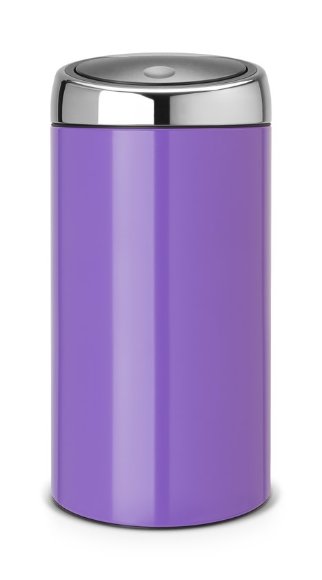 Touch Bin 45 Liter.Bol Com Brabantia Touch Bin Prullenbak 45 L Pansy Purple