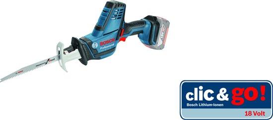 Bosch Professional Accu reciprozaagmachine GSA 18 V-LI C (Zonder accu/lader)