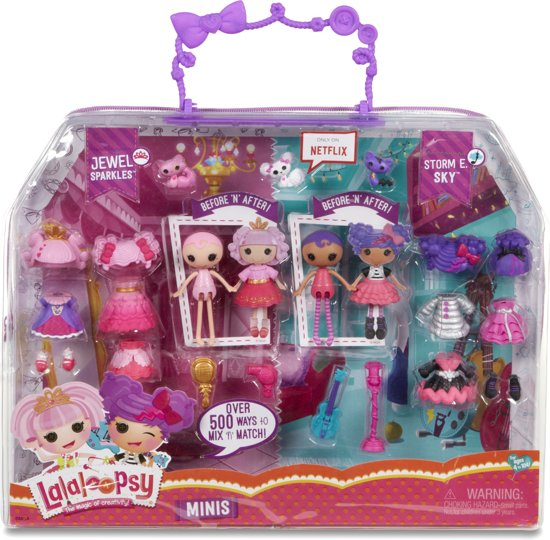 Pop Deluxe Lalaloopsy Mini Jewel and Storm