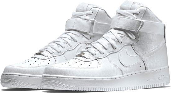 Nike Air Force 1 High '07 Sneakers Maat 44.5 Mannen wit