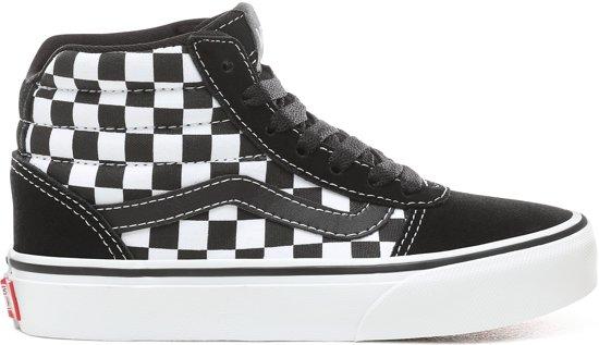 50630330ac1 Vans Ward Hi Sneakers Kids Jongens - maat 29 - (Checkered) Black/White