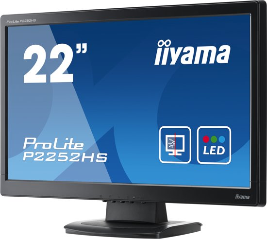 Iiyama ProLite P2252HS-B1 - Full HD Monitor