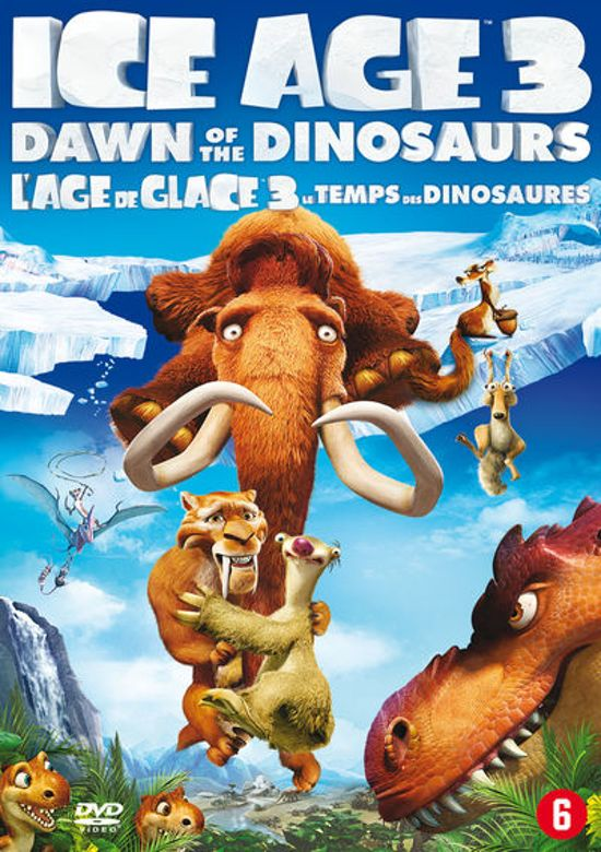 Cover van de film 'Ice Age 3: Dawn Of The Dinosaurs'