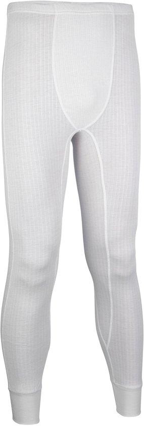 Avento Basic Thermo - Skibroek - Mannen - Maat L - Wit