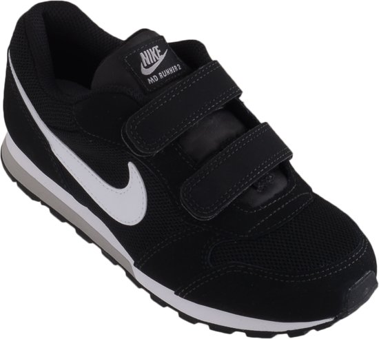 Nike MD Runner 2 (PSv) Sneakers Kinderen - Black/White-Wolf Grey