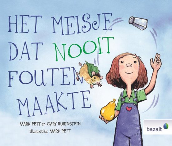 Boek cover Het meisje dat nooit fouten maakte van Mark Pett (Hardcover)