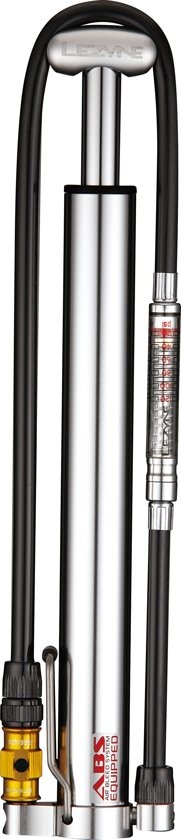Lezyne Micro Floor Drive HVG - Minipomp - Aluminium - Zilver (includes Gauge)