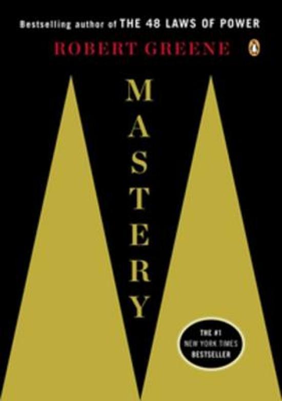 Boek cover Mastery van Professor Robert Greene (Onbekend)