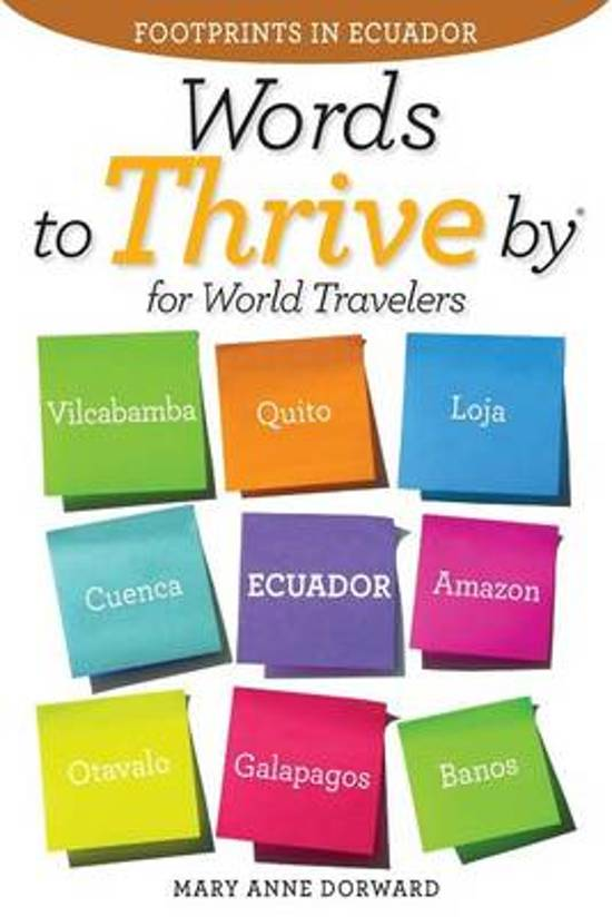 Words to Thrive by for World Travelers