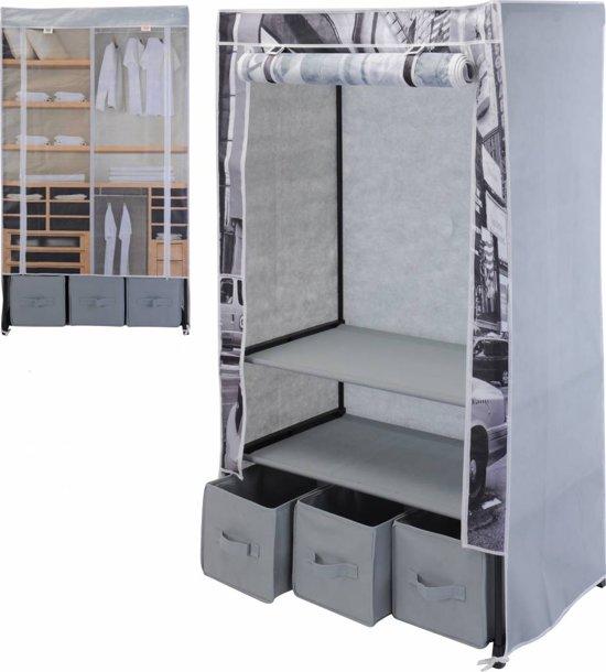 Opvouwbare Kledingkast - garderobekast 88x50x160 cm