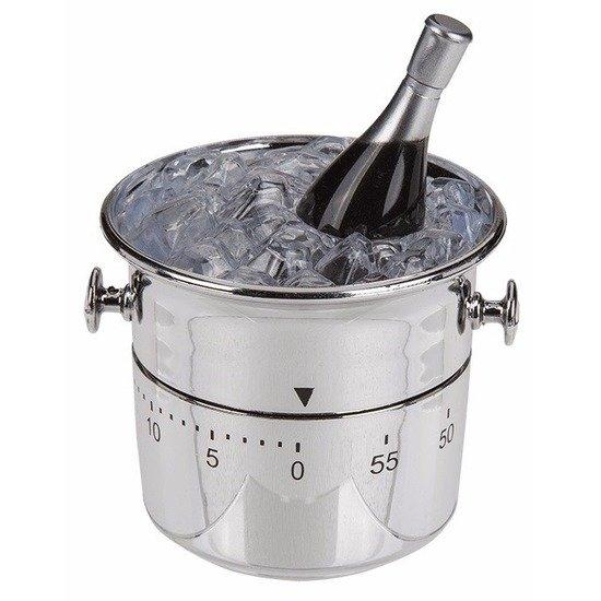 Wijnkoeler kookwekker wit
