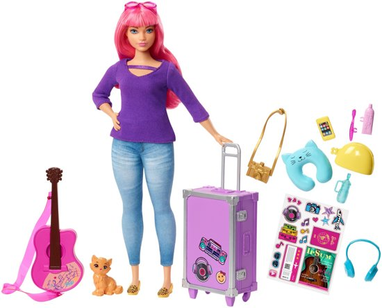 Barbie Travel Daisy Gaat Op Reis - Barbiepop