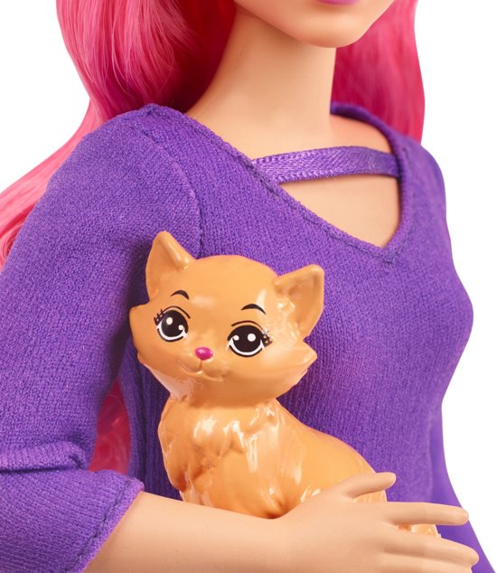 Barbie Travel Daisy Gaat Op Reis - Barbiepop