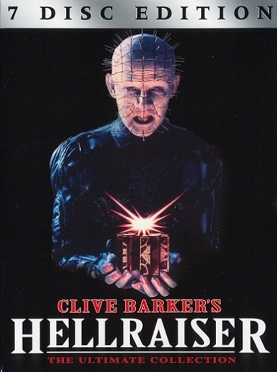 DVD cover van Hellraiser-Ultimate Collection