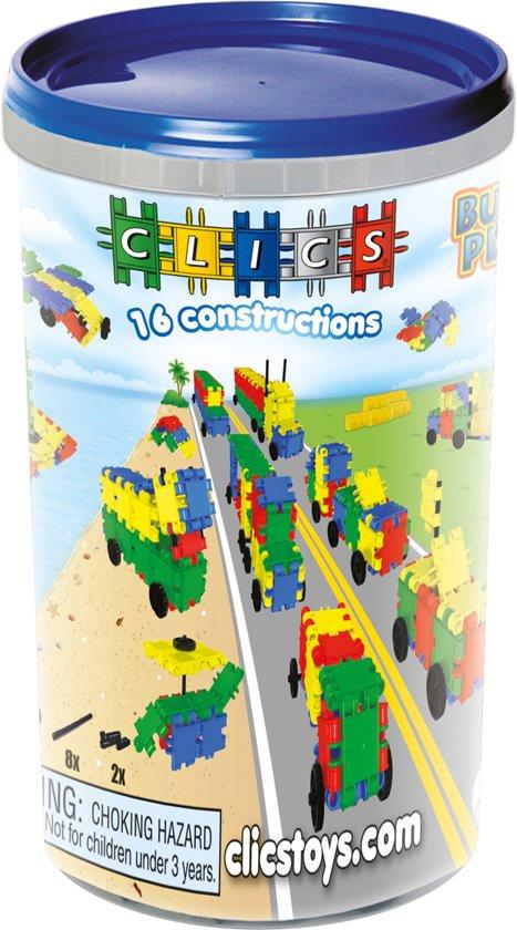 Clics Koker 16 in 1 - Constructie blokken