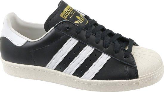 894ac1663dc bol.com | Adidas SUPERSTAR 80s Zwart - Maat 45 1/3