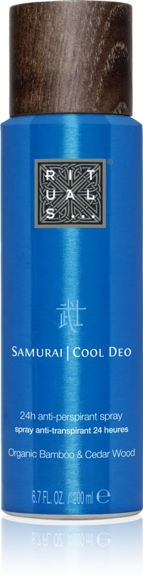 RITUALS The Ritual of Samurai Cool Deodorant spray - 200ml