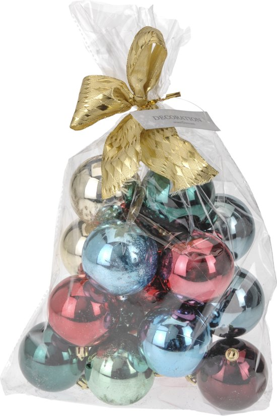 Bol Com Kerstballen Set Kerstversiering Kerstboom Versiering