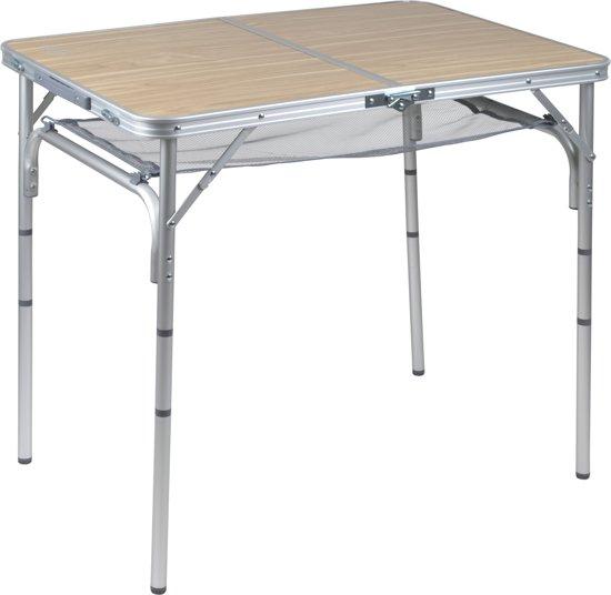 Bo Camp Aluminium Roltafel.Bo Camp Tafel Premium Rustic Koffermodel 90x60 Cm