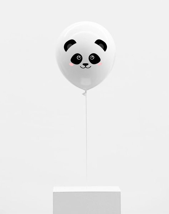 Fabs World Ballonnen panda face Valentinaa