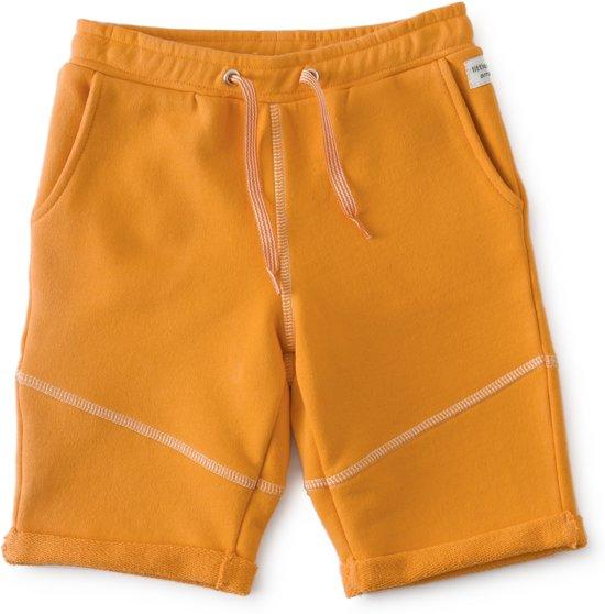 Little Label baby sweat shorts jongens - orange