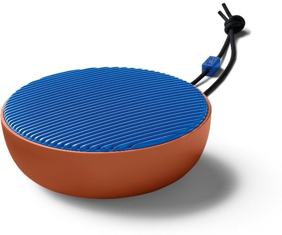 Vifa City - Draadloze Speakers - Terracotta Blue