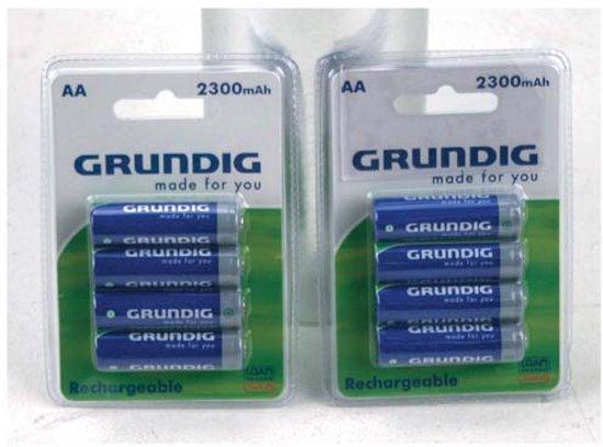 Grundig Oplaadbare Batterijen AA 4x