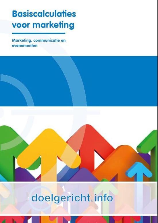 Doelgericht.info - Basiscalculaties voor marketing