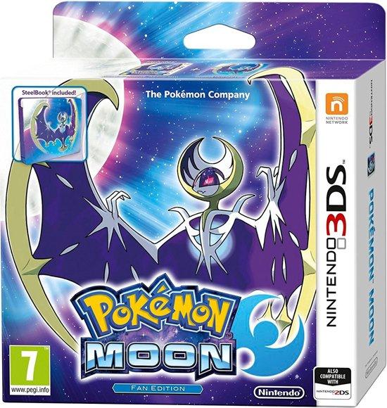 Pokemon Moon Steelcase Edition - 2DS + 3DS - UK versie kopen