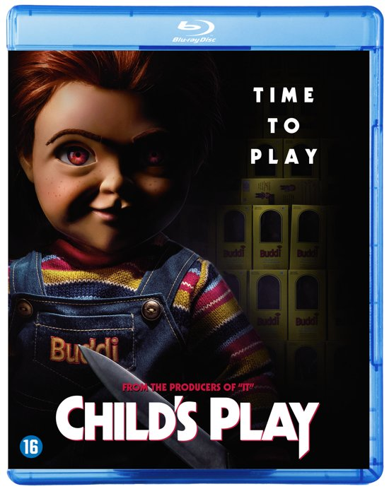 DVD cover van ChildS Play