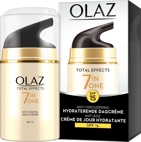Olaz Total Effects - 7in1 Anti-Veroudering SPF15 - Dagcrème