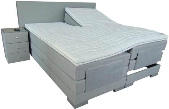 Bed 140x200 Inclusief Matras.Slaaploods Nl Cool Elektrische Boxspring Inclusief Matras 140x200 Cm Grijs